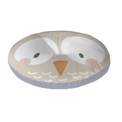 Owl Floor Pillow Size: 23 H x 23 W