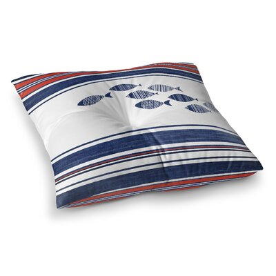 Concord Indoor/Outdoor Floor Pillow Size: 26 H x 26 W