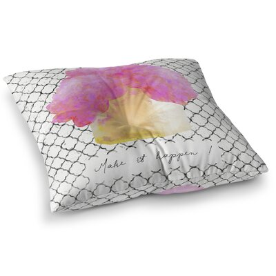 Bomen Floor Pillow Size: 23 H x 23 W