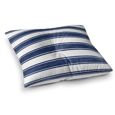 Ayleen Stripe Floor Pillow Size: 23 H x 23 W