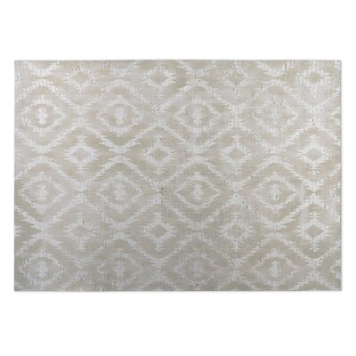 Delores Ivory Indoor/Outdoor Area Rug Rug Size: 2 x 3