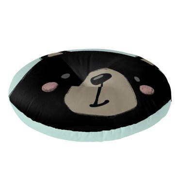 Bear Floor Pillow Size: 26 H x 26 W