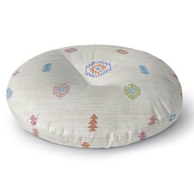 Floor Pillow Size: 26 H x 26 W, Color: Beige