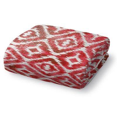 Christophe Blanket Color: Warm Pink, Size: 60 L x 50 W