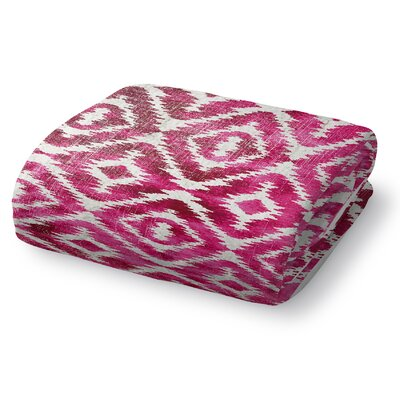 Christophe Blanket Color: Pink, Size: 80 L x 60 W