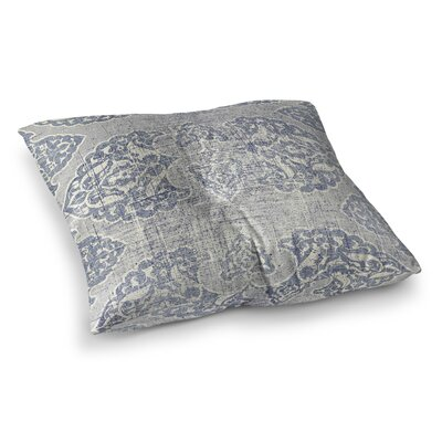 Floor Pillow Size: 23 H x 23 W, Color: Blue