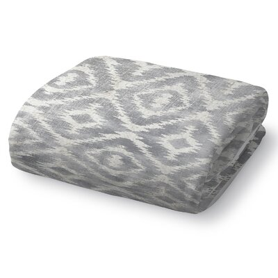 Christophe Blanket Size: 90 L x 90 W, Color: Gray