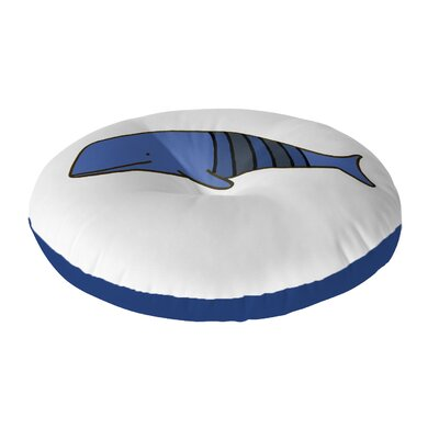 Ellicottville Floor Pillow Size: 26 H x 26 W, Color: Blue/Gray