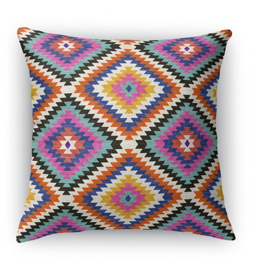 Sulien Indoor/Outdoor Throw Pillow Size: 16 H x 16 W x 5 D, Color: Teal