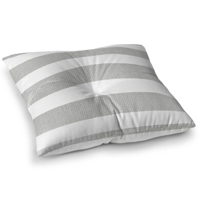 Centerville Floor Pillow Size: 26 H x 26 W, Color: Gray