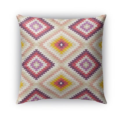 Sulien Indoor/Outdoor Throw Pillow Color: Beige, Size: 20 H x 20W x 5 D