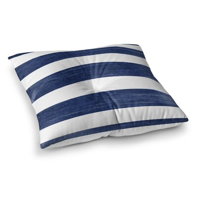 Centerville Floor Pillow Size: 23 H x 23 W, Color: Blue