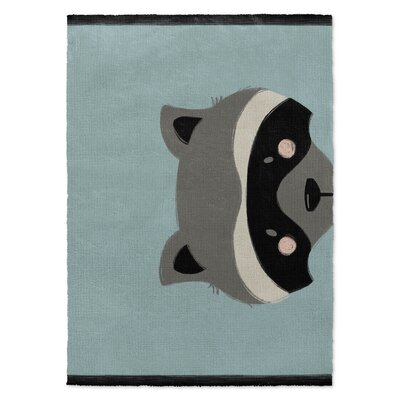 Jacquelyn Black/Gray/Green Area Rug Rug Size: Rectangle 5 X 7