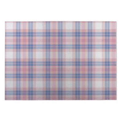 Colene Plaid Indoor/Outdoor Doormat Rug Size: 4 x 5