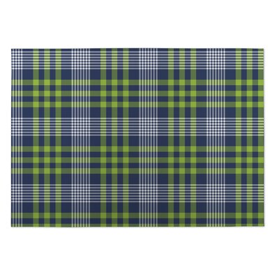 Baldwin Love Potion Plaid Indoor/Outdoor Doormat Mat Size: 5 x 7