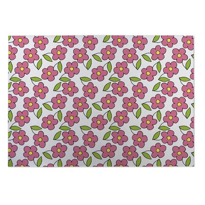 Gladiola Planting Indoor/Outdoor Doormat Mat Size: Square 8
