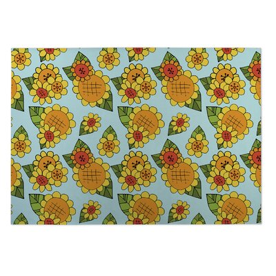 Classie Sunshine Indoor/Outdoor Doormat Rug Size: Square 8