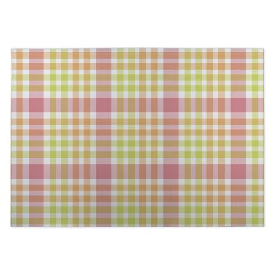 Gillette Christmas Plaid Indoor/Outdoor Doormat Rug Size: Square 8