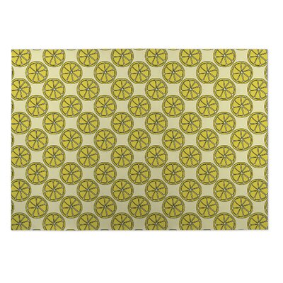 Harleigh Lemons Indoor/Outdoor Doormat Rug Size: 5 x 7