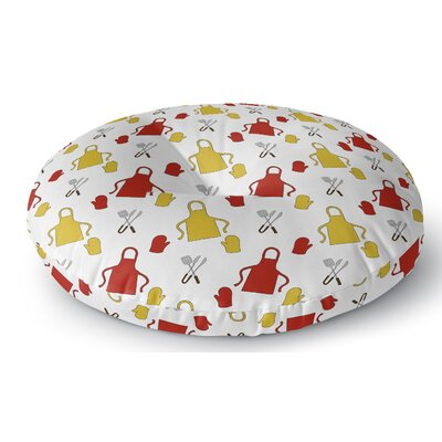 Ziva Indoor/Outdoor Floor Pillow Size: 26 H x 26 W x 8 D