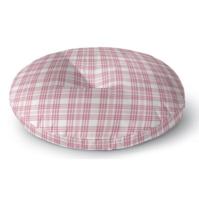 Ridgeley Plaid Indoor/Outdoor Floor Pillow Size: 23 H x 23 W x 8 D