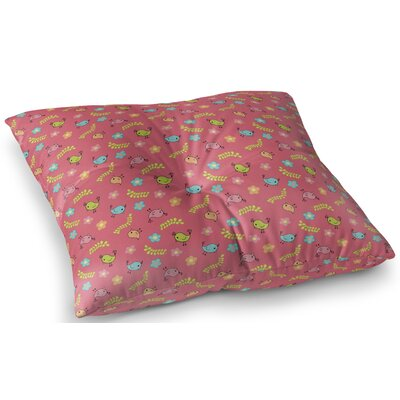 Thurmond Indoor/Outdoor Floor Pillow Size: 23 H x 23 W x 8 D