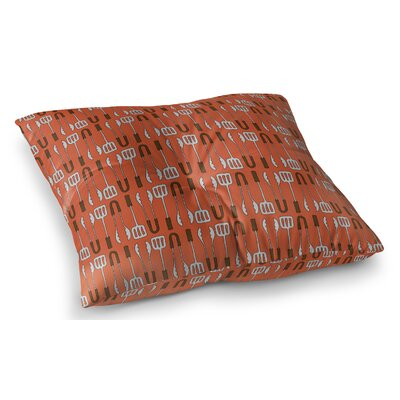 Ziva Floor Indoor/Outdoor Pillow Size: 26