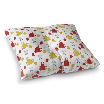 Ziva Indoor/Outdoor Floor Pillow Size: 23 H x 23 W x 8 D