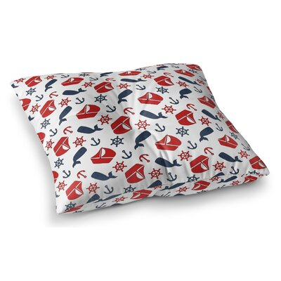 Robbins Indoor/Outdoor Floor Pillow Size: 23 H x 23 W x 8 D