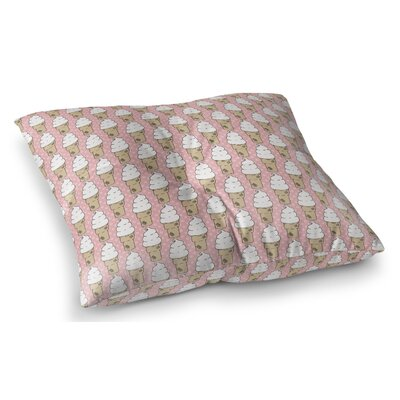 Garcia Indoor/Outdoor Floor Pillow Size: 23 H x 23 W x 8 D