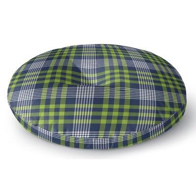 Zoelle Plaid Indoor/Outdoor Floor Pillow Size: 26 H x 26 W x 8 D