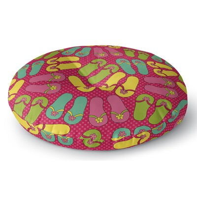 Zadiee Indoor/Outdoor Floor Pillow Size: 26 H x 26 W x 8 D
