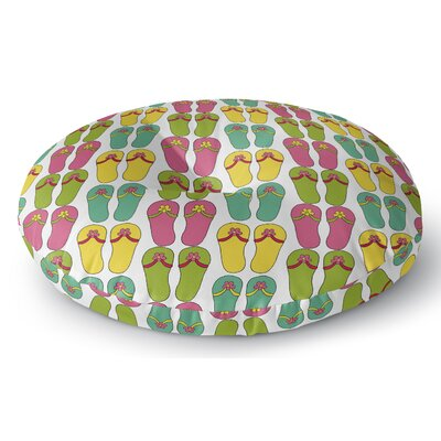 Zadiee Indoor/Outdoor Floor Pillow Size: 23 H x 23 W x 8 D