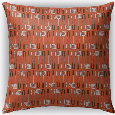 Ziva Indoor/Outdoor Throw Pillow Size: 16 H x 16 W x 4 D