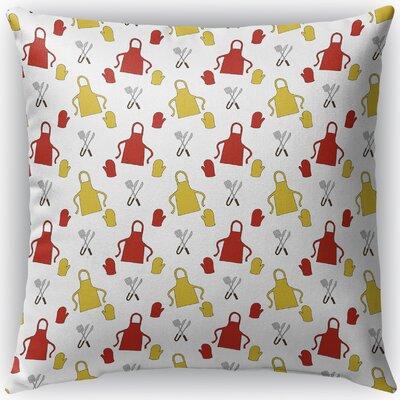 Ziva Indoor/Outdoor Throw Pillow Size: 16 H x 16 W x 4 D