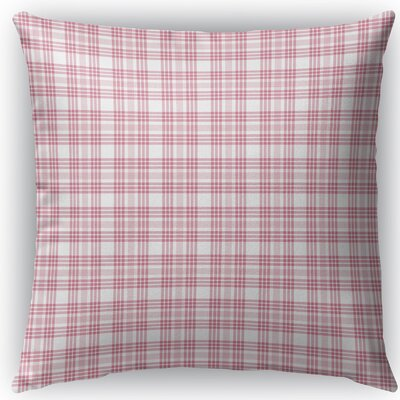 Ridgeley Plaid Indoor/Outdoor Throw Pillow Size: 16 H x 16 W x 4 D
