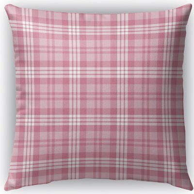 Ridgeley Plaid Indoor/Outdoor Throw Pillow Size: 16 H x 16 W x 4 D