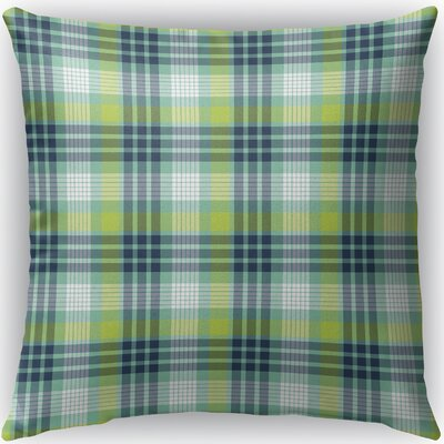 Vendome Plaid Indoor/Outdoor Throw Pillow Size: 26 H x 26 W x 4 D