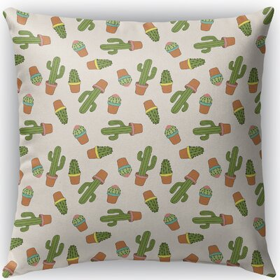 Geter Indoor/Outdoor Throw Pillow Size: 16 H x 16 W x 4 D