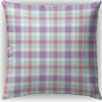 Malvina Plaid Indoor/Outdoor Throw Pillow Size: 16 H x 16 W x 4 D