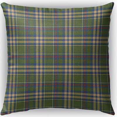Hogan Plaid Indoor/Outdoor Throw Pillow Size: 18 H x 18 W x 4 D