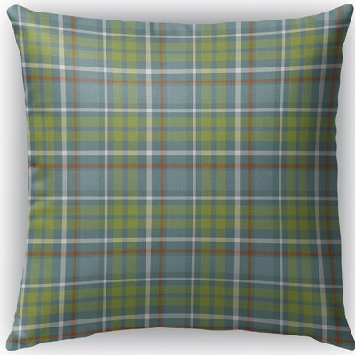 Warner Plaid Indoor/Outdoor Throw Pillow Size: 18 H x 18 W x 4 D
