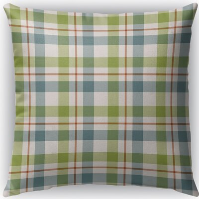Warner Plaid Indoor/Outdoor Throw Pillow Size: 16 H x 16 W x 4 D