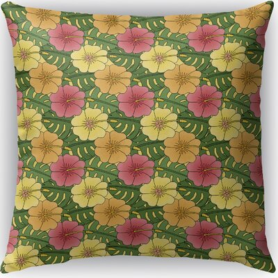 Omie Indoor/Outdoor Throw Pillow Size: 26 H x 26 W x 4 D