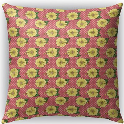 Omie Indoor/Outdoor Throw Pillow Size: 18 H x 18 W x 4 D