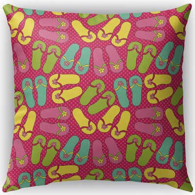 Zadiee Indoor/Outdoor Throw Pillow Size: 16 H x 16 W x 4 D