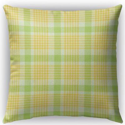Turene Plaid Indoor/Outdoor Throw Pillow Size: 16 H x 16 W x 4 D