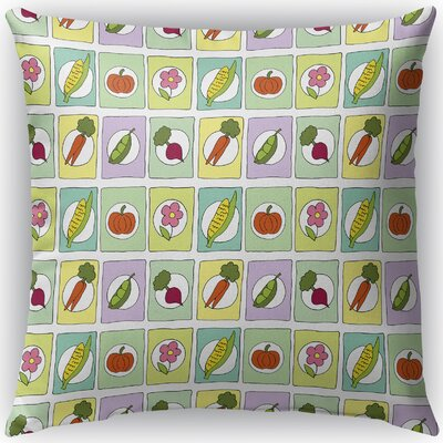 Matoury Indoor/Outdoor Throw Pillow Size: 16 H x 16 W x 4 D