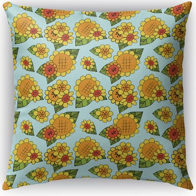 Lambersart Indoor/Outdoor Throw Pillow Size: 16 H x 16 W x 4 D