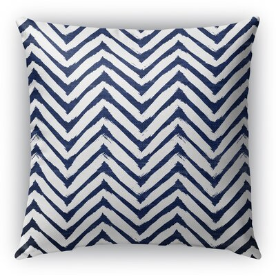 Leeanna Throw Pillow Size: 18 H x 18 W x 6 D, Color: Blue